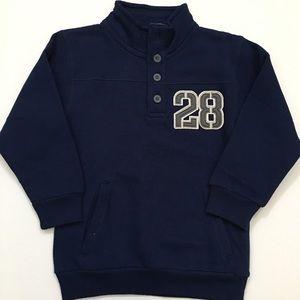 Disney Parks Mickey Mouse Sweater w/pockets-YTH XS